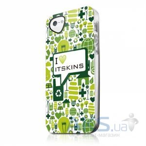 Чехол ITSkins Phantom for iPhone 5C I love iTSkins (APNP-PHANT-GREN)