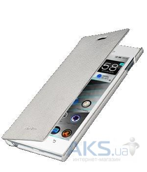 Чехол Melkco Book leather case for Lenovo K900 White (LNK900LCFB2WELC)