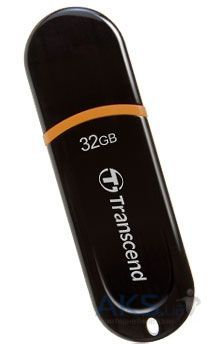 Флешка USB Transcend JetFlash 300 32Gb (TS32GJF300) Black/orange