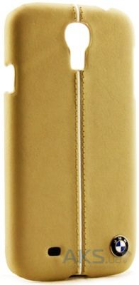Чехол BMW Leather Hard Case for Samsung Galaxy S4 Cream (BMHCS4LC)