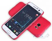 Вид 2 - Чехол Nillkin Super Frosted Shield HTC 10 Lifestyle Red
