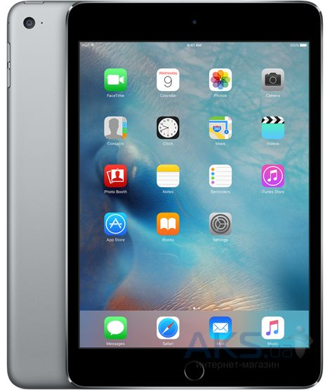 Планшет Apple A1538 iPad mini 4 Wi-Fi 128Gb  (MK9N2RK/A) Space Gray
