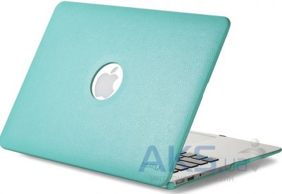 Чехол Kuzy Leather Case for MacBook Air 13 Teal