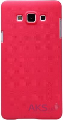 Чехол Nillkin Super Frosted Shield Samsung A700 Galaxy A7 Red