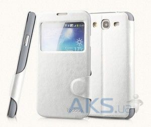 Чехол Yoobao Fashion leather case for Samsung i9150 Galaxy Mega 5,8 White (LCSAMI9150-FWT)
