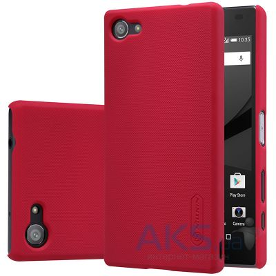 Чехол Nillkin Super Frosted Shield Sony Xperia Z5 Compact E5823 Red