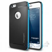 "Чехол SGP Neo Hybrid Metal Series for iPhone 6 Plus 5.5"" Metal Blue (SGP11072)"