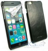 Чехол Alston Craig Vintage Leather Slim Shell Case for iPhone 6 Black (J1_21)