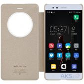 Вид 3 - Чехол Nillkin Sparkle Leather Series Lenovo A7020, K5 Note Gold