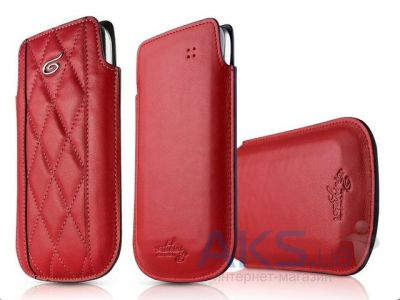 Чехол ITSkins Enzo Chronos for iPhone 5/5S Red/Gold (APH5-EZCHR-RDGD)