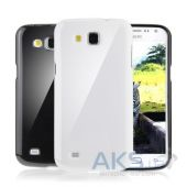Чехол Plastic cover case for Samsung i9260 Galaxy Primier White
