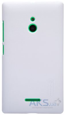 Чехол Nillkin Super Frosted Shield case for Nokia XL White