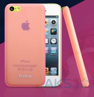Чехол Yoobao Crystal Protecting case for iPhone 5C Rose (PCI5C-CRS)