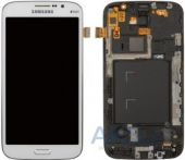 Дисплей (экраны) для телефона Samsung Galaxy Mega 5.8 I9152 + Touchscreen with frame Original White