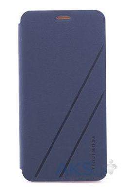 Чехол Yinji Book Leather Series Meizu M2, M2 Mini Blue