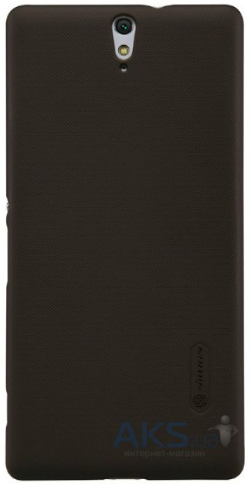 Чехол Nillkin Super Frosted Shield Sony Xperia C5 E5533 Brown