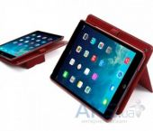 Вид 4 - Чехол для планшета Zenus iPad Air Synthetic leather Neo Classic Diary Wine Red