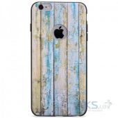 Чехол Hoco Element Series Wood Grain Apple iPhone 6 Plus, iPhone 6S Plus Light Blue
