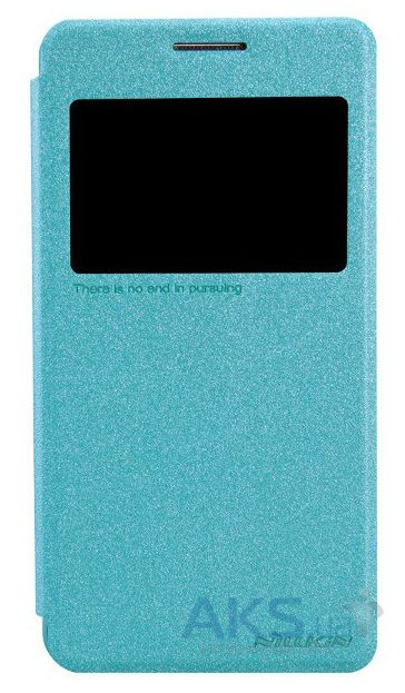 Чехол Nillkin Sparkle Leather Series Samsung G530 Galaxy Grand Prime Turquoise