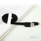 Вид 6 - Кабель USB Baseus Lightning String flat Black