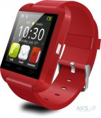 Умные часы UWatch Smart U8 Bluetooth (Red)