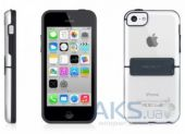 Вид 2 - Чехол Macally Hardshell case with stand Apple iPhone 5C Black (KSTANDP6-B)