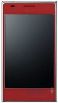 Сенсор (тачскрин) для LG Optimus L5 Dual E615 Red