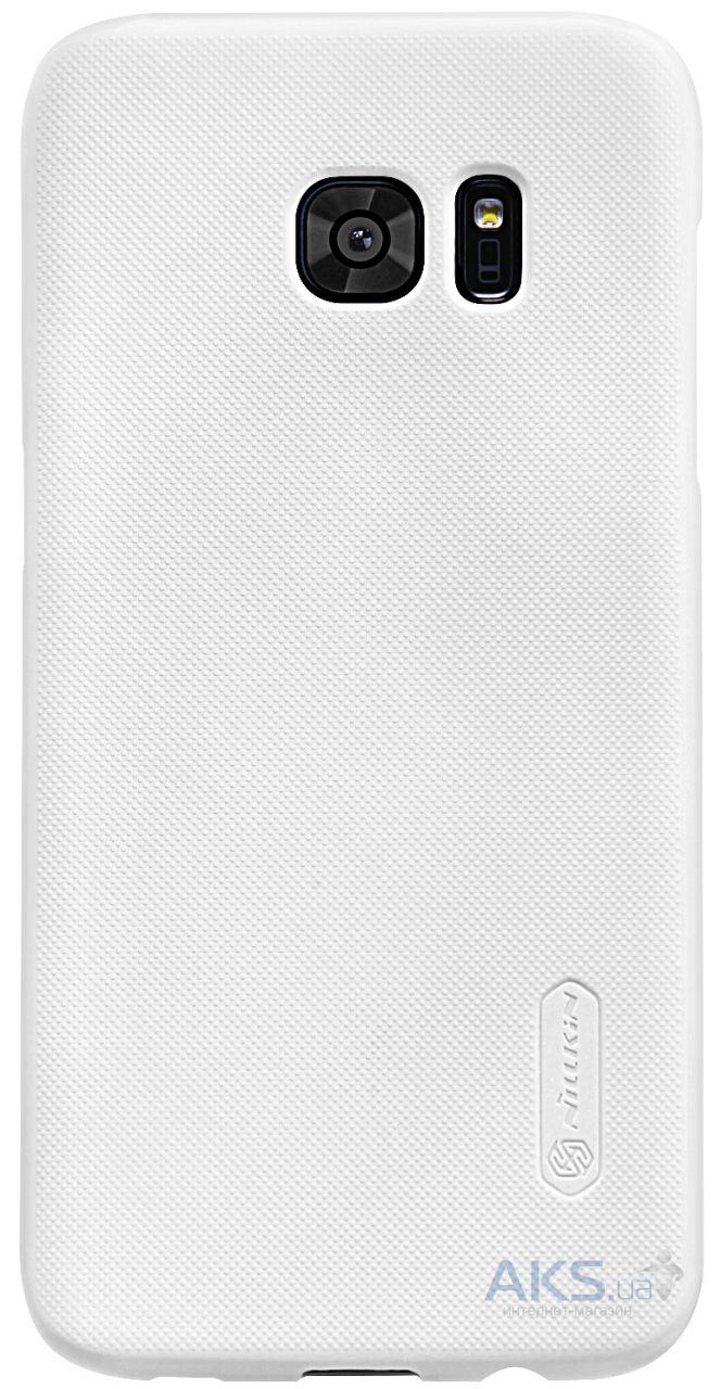 Чехол Nillkin Super Frosted Shield Samsung G930 Galaxy S7 White