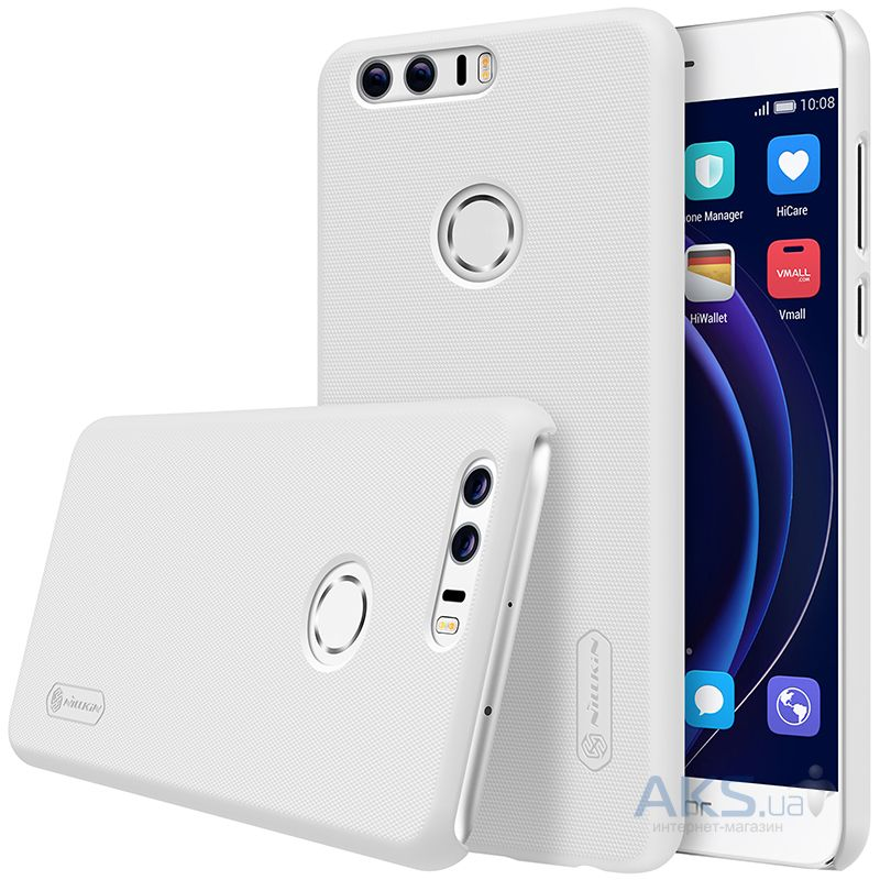 Чехол Nillkin Super Frosted Shield Huawei Honor 8 White