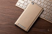 Вид 2 - Чехол Slenky Buisness Leather Series Xiaomi Redmi 3 Gold