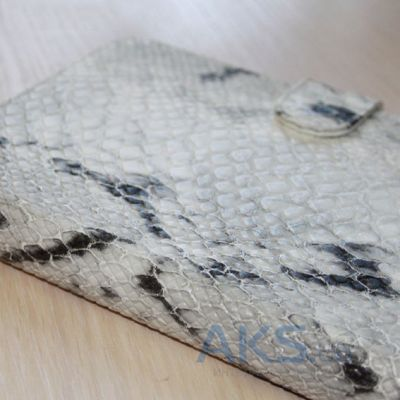 Обложка (чехол) Saxon Case для PocketBook Basic 611/613 Snake White