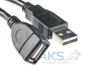 Кабель (шлейф) PowerPlant USB 2.0 AF – AM, 3м, One ferrite