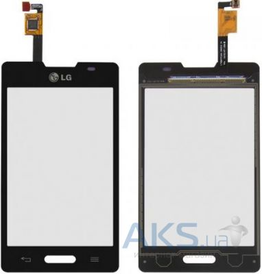 Сенсор (тачскрин) для LG Optimus L4 E440 Black