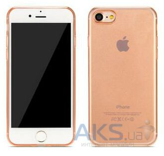 Чехол Remax Crystal Series Apple iPhone 7 Pink