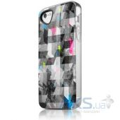 Чехол ITSkins Phantom cover case for iPhone 5/5S Graphic Square (APH5-PHANT-GPSQ)
