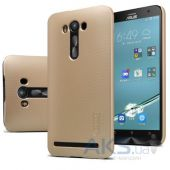 Чехол Nillkin Super Frosted Shield Asus Zenfone 2 Laser ZE550KL Gold