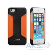 Чехол iCarer Colorblock Apple iPhone 5, iPhone 5S, iPhone SE Black/Orange