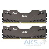 Оперативная память Team DDR3 16GB (2x8GB) 2400 MHz Dark Series Gray (TDGED316G2400HC11CDC01)