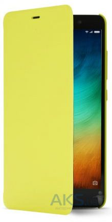Чехол Xiaomi Smart Flip Case Redmi Note 3, Redmi Note 3 Pro Yellow