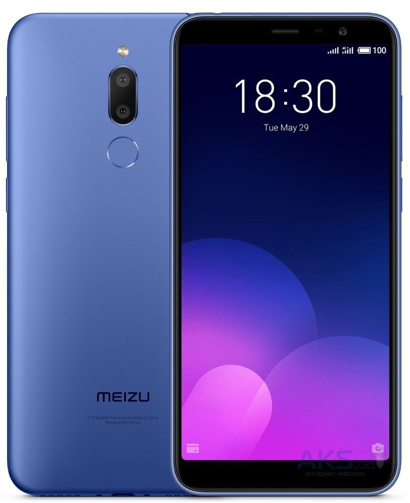 Мобильный телефон Meizu M6T 2/16Gb Blue