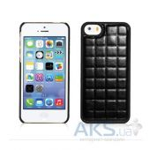 Вид 2 - Чехол Xoomz PU Grid Apple iPhone 5, iPhone 5S, iPhone 5SE Black