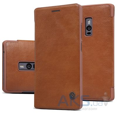 Чехол Nillkin Qin Leather Series OnePlus 2 Brown