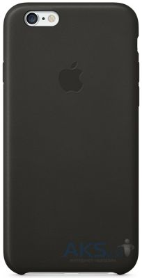 Чехол Apple Copy Leather Case for iPhone 6/6S Black (MGR62_C)