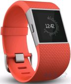 Спортивный браслет Fitbit Surge Large Tangerine/Red (FB501TAL)