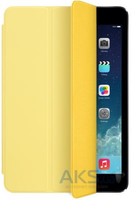 Чехол для планшета Apple Smart Cover iPad Mini, iPad Mini 2, iPad Mini 3 Yellow (MF063)
