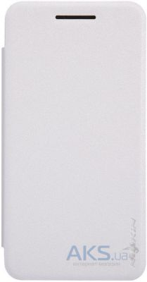 Чехол Nillkin Sparkle Leather Series Asus ZenFone 4 A400CXG White