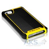 Вид 3 - Чехол ITSkins Fusion Carbon Core for iPhone 5/5S Yellow (APH5-FUSCA-BKYL)