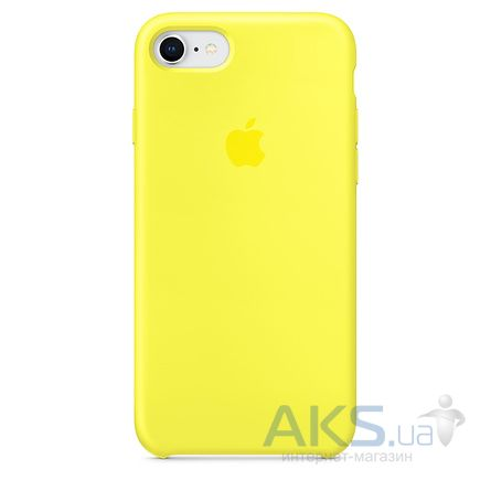 Чехол Apple Silicone Case iPhone 7, iPhone 8 Lemon_HC
