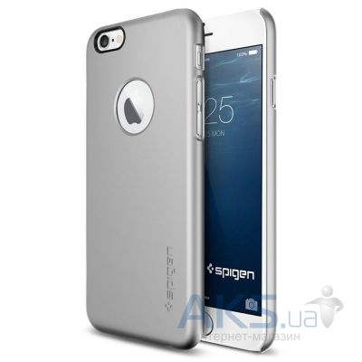 Чехол SGP Thin Fit A Series Apple iPhone 6 Satin Silver (SGP10942)