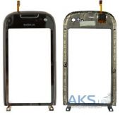 Сенсор (тачскрін) Nokia C7-00 with frame (original) Black